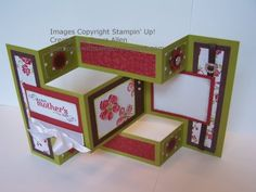 tutorial shows how to make this card that is sure to impress