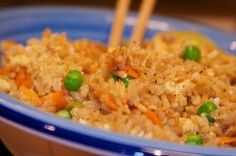 How to make Egg Fried Rice with Ginger. Step by step instructions to make Egg Fried Rice with Ginger . Rice Recipes, Asian Recipes, New Recipes, Dinner Recipes, Chinese Recipes, Lunch Recipes, Recipies, Favorite Recipes, Family Recipes