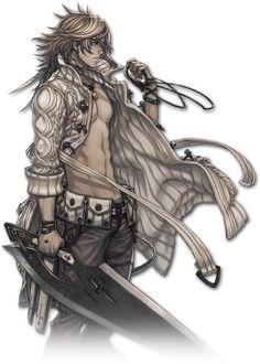 Jeu vidéo : Terra Battle / Character : Mercenary Elsa / https://wiki.famitsu.com/terrabattle/%e3%82%ad%e3%83%a3%e3%83%a9%e3%82%af%e3%82%bf%e3%83%bc/%e3%82%a8%e3%83%ab%e3%82%b6