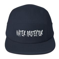 Water Protector Soft Cloth Cap with nylon strap