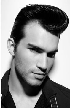 1950s Hairstyles for Men | Men\'s Hairstyle | Pinterest | Man picture ...