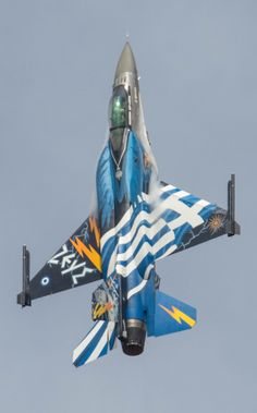 Hellenic Army, Hellenic Air Force, F 16 Falcon, Air Machine, Airplane Fighter, Army & Navy, Military Aircraft, Fighter Jets, Airplanes
