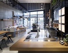 The new interiors for the Dutch coffee chain Coffeecompany are part of an overall rebranding exercise, executed by a team of creatives of different disciplines: The Garnison Group. Jeroen Vester, creative director of ninetynine is responsible for...