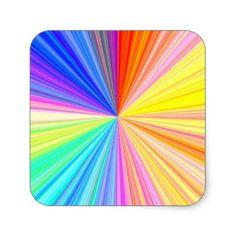 Multi Purpose Write-on n Decorative Paper Craft Square Sticker - holidays diy custom design cyo holiday family