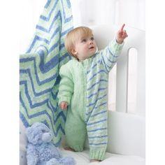 Easy Baby's Romper Knit Pattern