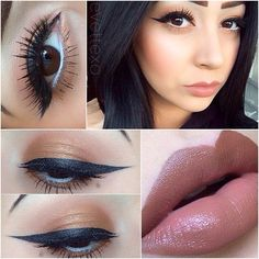 pretty liner and lashes