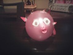 Easy puffer fish to make out of a balloon
