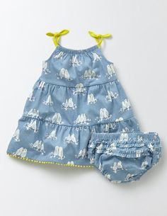 Tiered Summer Jersey Dress 78181 Jersey Dresses at Boden