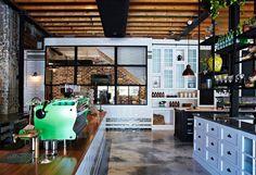 The Grounds of Alexandria café by Caroline Choker, Sydney hotels and restaurants