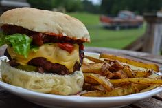 Making Miracles: Secret Recipe Club: Tomato Bacon Jam [Triple Bypass Burger + Grilled Cheese]