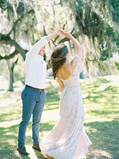 Dress | Downtown Charleston Engagement Session