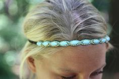 Pretty headbands with a prettier cause. $24