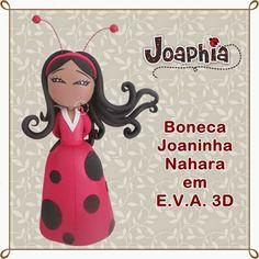 JOAPHIA ARTES E CIA: BONECA JOANINHA NAHARA