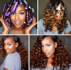 How To Do A Flexi-Rod Set From Start To Finish + Product Recommendations For Humidity Read the article here - http://www.blackhairinformation.com/general-articles/hairstyles-general-articles/flexi-rod-set-start-finish-product-recommendations-humidity/