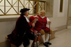 Our reenactors will be meeting and greeting our guests inside the National Archives from 11 a.m. to 2 p.m. on July 4. Abigail Adams will host storytime.  Join us! Details: http://go.usa.gov/bypC