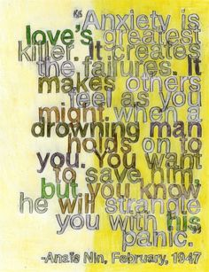 Anaïs Nin on Love, I Art Print by Debbie Millman | Society6