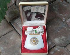60s Lady Schick crown jewel razor / vintage shaving kit / vintage home vanity decor