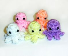 Mini Baby Squidlets  Choose 5 by HappySquidMuffin on Etsy, $5.75