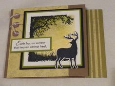 Silhouette Sympathies by rheal - Cards and Paper Crafts at Splitcoaststampers