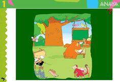 Manejo del ratón, de Recursos Didácticos Interactivos de Editorial Anaya, es una útil y bonita actividad para pasar un buen rato mejorando las habilidades con el ratón. Aunque figura como actividad para 1º Nivel de Educación Primaria, se puede realizar perfectamente en la edad de Educación Infantil. Anaya, Editorial, Family Guy, Guys, Fictional Characters, Primary Education, Teaching Resources, Preschools, Learning