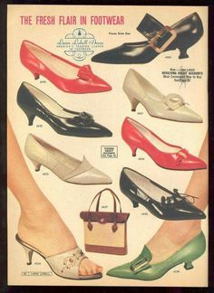 1961. Shoes never really change much, do they?