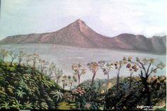 GUILLERMO CARVAJAL ALVARADO. COSTA RICA : SU PINTURA : PAISAJE DE ENSUEÑO: EL VOLCAN ARENAL