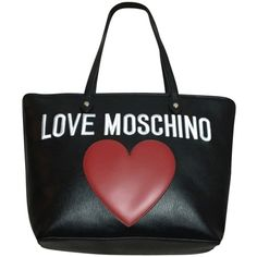 Pre-owned Moschino Black Tote Bag ($350) ❤ liked on Polyvore featuring bags, handbags, tote bags, black, handbags totes, man bag, zippered tote, black tote purse and black tote handbag