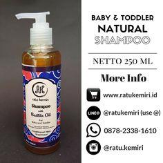 WA/LINE 0878 2338 1610, BBM 5F832CA2. Jual shampoo natural untuk perawatan rambut bayi dan anak. Ratu Kemiri asli, tanpa detergen, tanpa paraben.