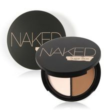 Professional Brand Makeup Two-Color Bronzer & Highlighter Powder Trimming Powder Make Up Cosmetic Face Concealer by Sugar Box(China (Mainland))