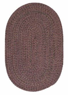 Colonial Mills Hayward HY49 Plum 4' x 6' Oval by Colonial Mills. $159.00. Establish a rich, yet casual decor with the warm, heathered highlights in this versatile tweed rug design.