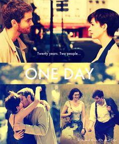 "One Day (2011)  Director: Lone Scherfig  Casts: Anne Hathaway, Jim Sturgess, Tom Mison,...  Karkoli se zgodi jutri, sva imela današnji dan."""