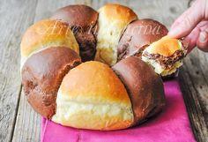 Ciambella+bicolore+brioche+alla+nutella+ricetta