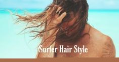 The surfer hair style must be messy, wavy, and casual. You'll need a minimum of 4 inches of length to begin, but the longer will look better. Growing Your Hair Out, Grow Long Hair, Grow Hair, Surfer Hairstyles, Messy Hairstyles, Straight Hairstyles, Surfer Guys, Brown Hair Men, Beach Hair