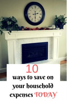 Here are 10 ways that you can save on your household expenses today!! For more money saving tips check out www.onlygirl4boyz.com