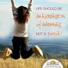 Art of Living Happiness Programme in deiner Nähe: http://www.artofliving.org/de-de