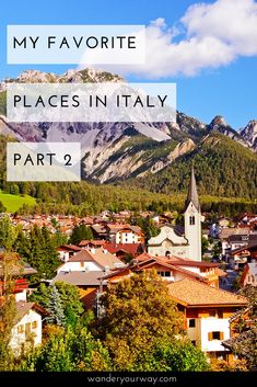 Italy is loaded with beautiful places to visit. So which destinations in the boot are the best? Well I can only tell you about some of my favorite places in Italy. Maybe they're yours too! Click through to find out more.