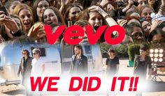"""One Direction Break The 24 Hour Vevo Record With """"Steal My Girl""""! Directioners we are the bestest!!!!"""