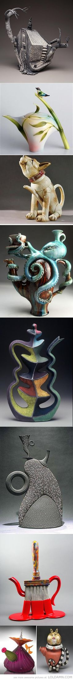 Some cool and unusual teapots