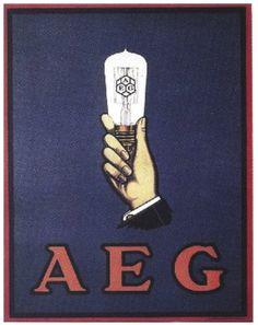 Afiche de Peter Behrens para AEG