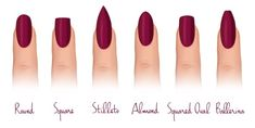 12 Trendy Looking Nail Shapes For This Fall and Winter As a woman, I appreciate good looking and neatly made nails. Many of you will agree with me that short and beautiful nails are a big win. Types Of Nails Shapes, Different Nail Shapes, Eye Shapes, Square Oval Nails, Milky Nails, Nagel Hacks, Dipped Nails, Super Nails, Gorgeous Nails