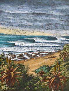 Martin Bakker #surf #art