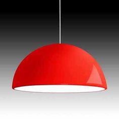 lustre pendente vermelho - Pesquisa Google