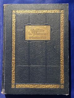 Antique Book 1939 The Bible in Pictures Illustrated Gustave Dore William H. Wise