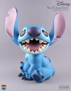 Sideshow Collectibles is proud to bring you the Life-Size Stitch VCD, the latest addition to Medicom Toy Corporation's line of high-quality vinyl Disney figures! Medicom has designed the Disney VCD li