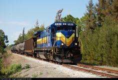 RailPictures.Net Photo: SGLR 592 Seminole Gulf GE B39-8E (Dash 8-39BE) at Punta Gorda, Florida by Ken Goslett