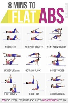 8 MINS TO FLAT ABS