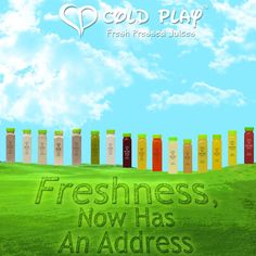 Taste the freshness of nature with Cold Play Juices  #Fresh #Juices #Healthy #Tips #Outdoor #Grass #Green #Blue #Detox #Yellow #White #Milkshakes #Pin #Colorful #Mumbai #OrderNow