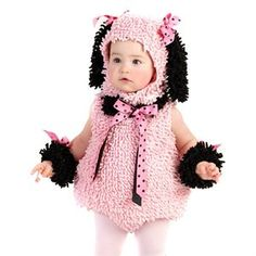 Baby Girls Pink Poodle Outfit Cute Infant #Halloween #Costume via @buy.com
