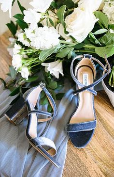 18 Must-have Chic Spring Wedding Shoes to Stand You Out! - 18 Must-have Chic Spring Wedding Shoes to Stand You Out! , Now it's Brides must be busy preparing about the coming spring wedding. Blue Bridal Shoes, Blue Shoes, Blue Pumps, Something Blue Wedding, Dusty Blue Weddings, Wedding Dress Trends, Wedding Dresses, Serenity, Wedding Styles