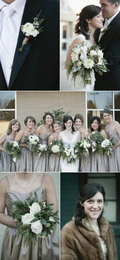 Arkansas Christmas Wedding from Beaty Photography + Details Weddings & Events - Style Me Pretty